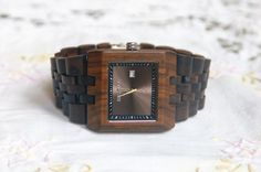 Wooden Watch For Men Sandal Wood Watch Wrist by DOWOODwatch on Etsy $56.99