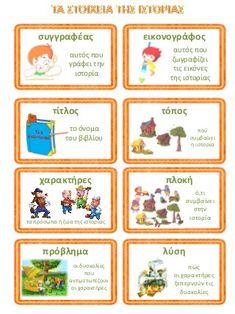 Preschool Education, Preschool Kindergarten, Speech Therapy Activities, Writing Activities, Fun Learning Games, Learn Greek, Greek Language, Library Lessons, School Staff