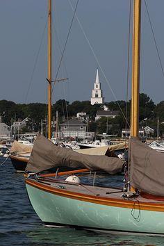 Nice sailboat at Nantucket