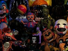 What Five Nights At Freddys Character Are You?