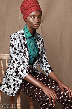 Check out one of our fave Nigerian models Paula O.