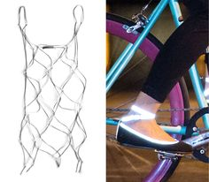 Want, want, want!!!! (both shoes and bike) #reflective
