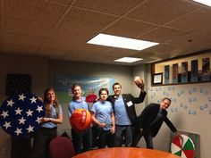 The team in their new office in St. Louis! Woohoo!