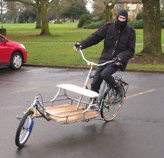cargo bike, pretty sweet!