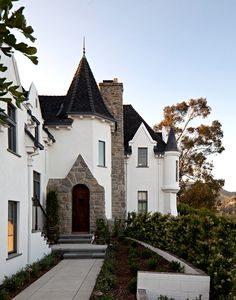1920s era Wolf's Lair, former home of Los Angeles real estate developer L. Milton Wolf. Restored by the techno musician Moby.