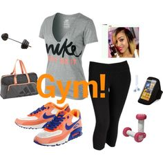 """Gym!"" by peace-471 on Polyvore"