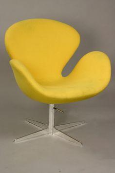Chpt 27: Scandinavian Modern: Swan Chair, Arne Jacobsen