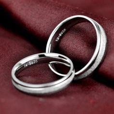 Men / Women's Minimalist Silver Weddings Rings $ 20.16 & FREE Shipping #jewelrynothers #jewelryaddict #jewelryartist Silver Weddings, Silver Wedding Rings, Wedding Jewelry, Chakra Bracelet, Pearl Chain, Size 10 Rings, Minimalist Jewelry, Body Jewelry, Earring Set