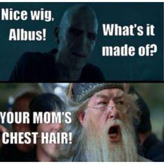 Harry Potter!!! Hahahaha
