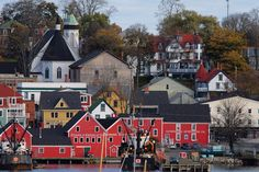 Lunenburg UNESCO -- can't wait to experience! Lunenburg Nova Scotia, Ocean Video, Atlantic Canada, Prince Edward Island, Largest Countries, A Whole New World, New Brunswick, Canada Travel, East Coast