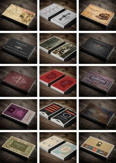 15 Retro & Vintage Business Cards Collection - only $19! - MightyDeals