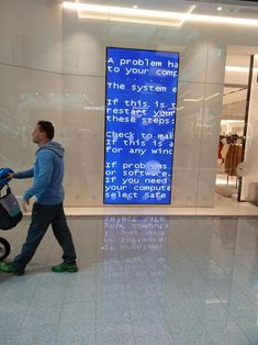 At the mall #bsod #pbsod | PBSOD | Mall, Microsoft windows