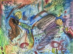 Pen And Watercolor, Fine Art America, Flow, Mixed Media, Instagram Images, Greeting Cards, Wall Art, Artist, Artwork
