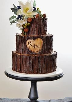 like the bark look and heart carved