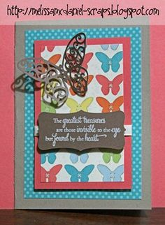 'Dotty for you' butterfly card!