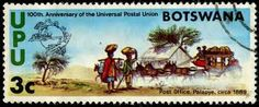 Bostwanian  mail coach
