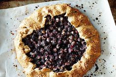 Blueberry Galette with Rosemary Crust recipe on Food52