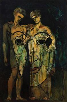 Francis Picabia - Dadaïsme - Adam et Ève