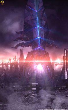 Reaper – This is true power by Euderion – World Of Games Mass Effect Tattoo, Mass Effect Art, Mass Effect Reapers, Mass Effect Characters, Mass Effect Universe, Saga, Commander Shepard, Robot Concept Art, Cyberpunk Art