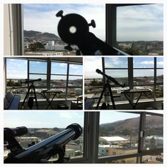 Telescope for sky and bay viewing