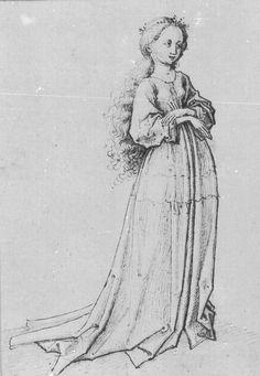 Princess Kleodelinde, c 1475-1500, Master of the Housebook