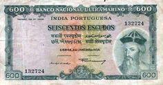 notas de escudos portugueses -