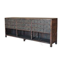 Medieval Hand Carved Sideboard 105w x 19d x 37h $2690 reproduction
