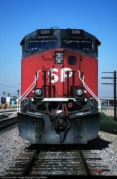 RailPictures.Net Photo: SP 139 Southern Pacific Railroad GE AC4400CW at Montclair, California by Craig Walker