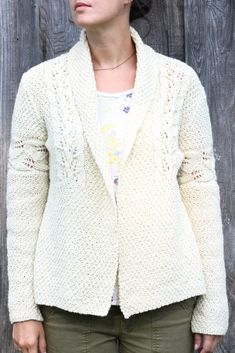 Ravelry: Coolidge Cardigan pattern by Amy Christoffers