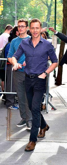Tom Hiddleston And Luke Windsor!