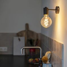 Shop for Industrial Wall Lamp Black - Facil 1 online! Appliques Murales Vintage, Lampe Retro, Luminaire Vintage, Indoor Wall Lights, Luminaire Mural, Led Lampe, Vintage Lighting, Lamp Shades, Working Area