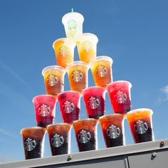 Pretty Starbucks Drinks