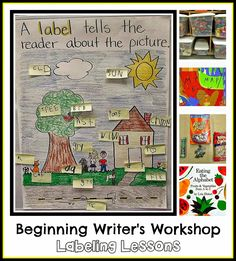 Fun blog post about helping emergent writers learn to use labels ~ Lots of practical tips. (Free.)
