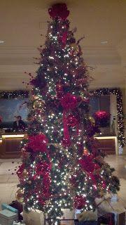 Balboa Bay Club indoor Christmas tree, Newport Beach  www.kidslifesocal.blogspot.com