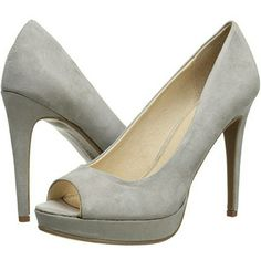 """*New* Chinese Laundry Gray Dress Pump Brand New in Box Chinese Laundry Women's Hypnotize Microsuede Dress Pumps -peep toe pump -100% Microsuede -Heel measures approx 4.5"""" -Platform measures approx 1.0"""" Color: Gray, Size 8 (fit is true to size) Chinese Laundry Shoes Heels"""