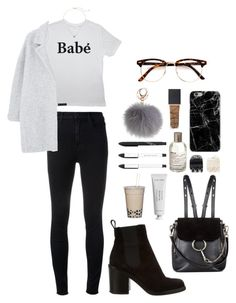 Untitled #296 by biancabottini on Polyvore featuring polyvore, fashion, style, MANGO, J Brand, Givenchy, Chloé, Kate Spade, Forever 21, NARS Cosmetics, Byredo, Le Labo and clothing