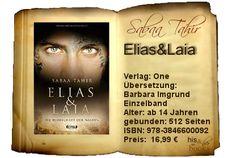 his and her books: ♂ Elias & Laia - Die Herrschaft der Masken (Sabaa ...