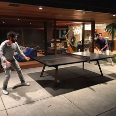 Feeling very humbled by tobygadmusic's superior ping pong skillz