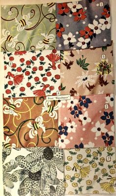 1940s Fabrics and Colors in Fashion: 1947 tweeds and floral prints #1940sfashion #vintage http://www.vintagedancer.com/1940s/1940s-fabrics-colors-fashion/