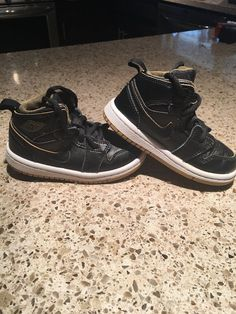 premium selection 2bb4f 341f6 Nike Air Jordan 1 Black Metallic Gold 640735-042 Toddler Size 6C  fashion   clothing  shoes  accessories  babytoddlerclothing  babyshoes (ebay link)