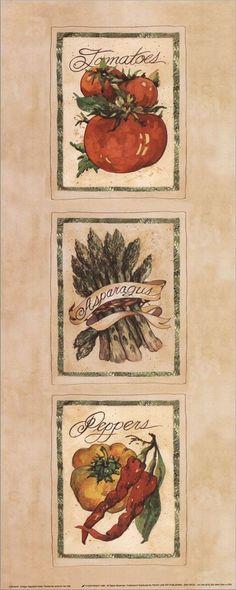 Vintage Vegetable Assorted (Jerianne Van Dijk)