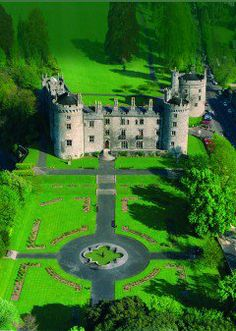 Spectacular picture of the Kilkenny Castle