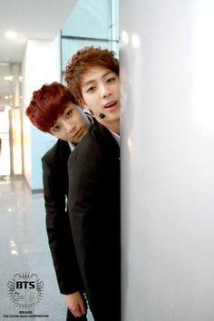 Kim Seokjin & Jeong Jungkook