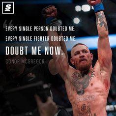 Conor McGregor ~ VICTORIOUS!!!