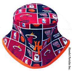 Miami Heat Unisex Orange-base Bucket Hat by Hamlet Pericles, Inc.    #HamletPericlesFashion #HamletPericlesInc #Hamlet #Pericles #BucketHat #Etsy #EtsySeller #Patchwork #Red #Embroidery #Miami #HeatNation #MIA #RedAndBlack #Fashion #FashionDesign #FashionDesigner #Milliner #Millinery #Headwear #MiamiFl #MiamiFlorida #Personalized #Customized #BucketHats #Hats #Hat #Caps #