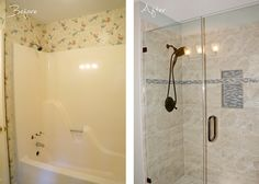 Superieur ... Inc. Sherry Deaton Master Bath Remodel ~ Removing Fiberglass Tub/shower  Insert And Replacing With Custom Tile Shower With Framless Shower Enclosure.