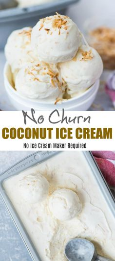 With real coconut flavour from Coconut milk, this Coconut Ice Cream is so easy to make. It is no churn and you don't even need an Ice cream maker. Beautiful light texture and Creamy, this Coconut Ice Cream is a must try in Summer. Homemade Coconut Ice Cream, Coconut Milk Recipes, Keto Ice Cream, Ice Cream Maker, Ice Cream Recipes, Paleo Coconut Ice Cream Recipe, Easy Ice Cream Recipe, Ice Cream Coconut Milk, Coconut Milk Salmon