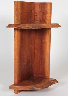 1stdibs.com | George Nakashima, 1973, Corner shelf