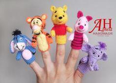 """Finger Puppets""""WINNIE THE POOH AND FRIENDS""""/Վինի-Թուխը և բոլորը-բոլորը"""