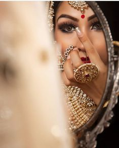 Presently there reallycertainlycan be a few things out of your big day that are likely to las. - Wedding Jewelry Ideas For Bride Indian Bridal Portrait Poses, Bridal Poses, Bridal Photoshoot, Bridal Shoot, Wedding Poses, Desi Wedding, Wedding Shoot, Indian Wedding Couple Photography, Indian Wedding Photos